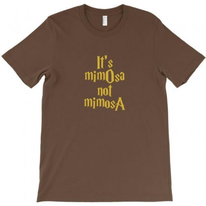 It's Mimosa Not Mimosa T-shirt Designed By Irwansyahronie