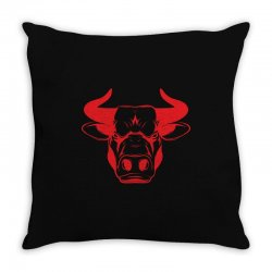 The Bull Throw Pillow | Artistshot