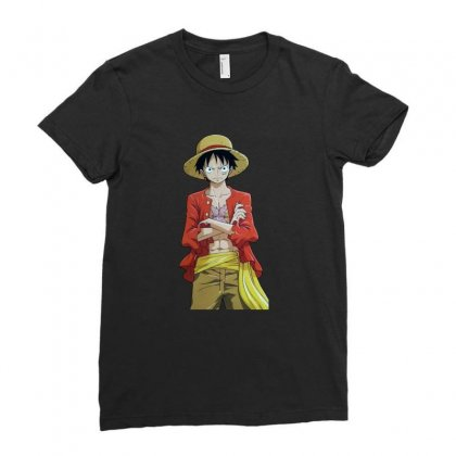 Luffy Pics Fazenda Ladies Fitted T-shirt Designed By Acoy