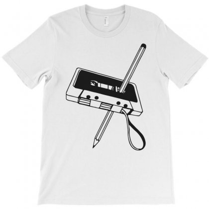 Tape With Pencil Funny T-shirt Designed By Candrashop