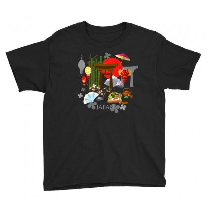 Culture Of Japan Tradition Illustration Background Youth Tee Designed By Salmanaz