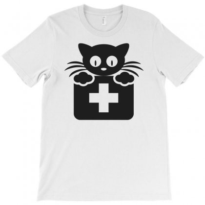 First Aid Cat Funny T-shirt Designed By Candrashop