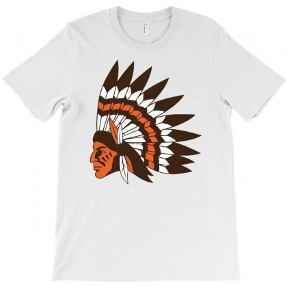 Indian Head Chief T-shirt Designed By Candrashop