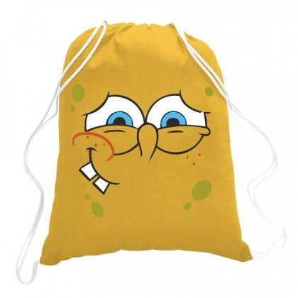 Spanch Bob Drawstring Bags Designed By Estore