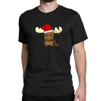 Adorable Reindeer Classic T-shirt Designed By Oktaviany
