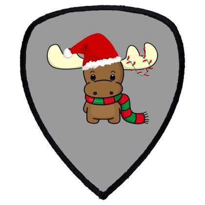 Adorable Reindeer Shield S Patch Designed By Oktaviany