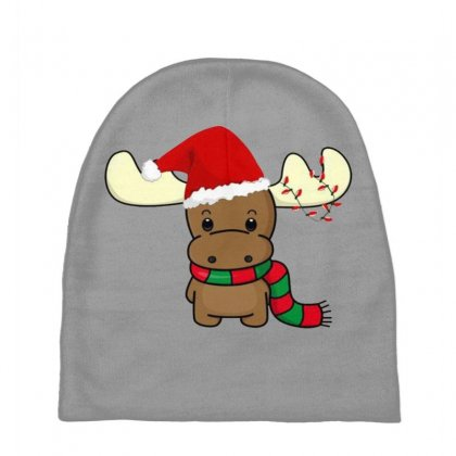 Adorable Reindeer Baby Beanies Designed By Oktaviany