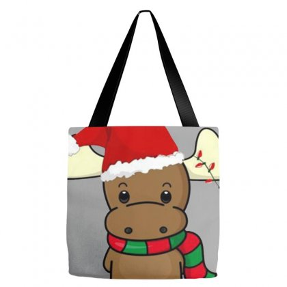 Adorable Reindeer Tote Bags Designed By Oktaviany