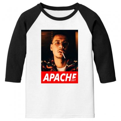 Apache Rapper Youth 3/4 Sleeve Designed By Oktaviany