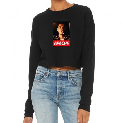 Apache Rapper Cropped Sweater Designed By Oktaviany