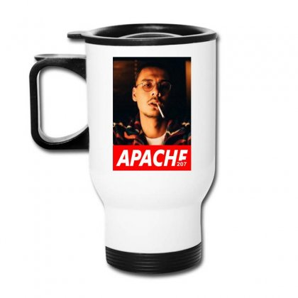 Apache Rapper Travel Mug Designed By Oktaviany