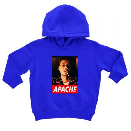 Apache Rapper Toddler Hoodie Designed By Oktaviany