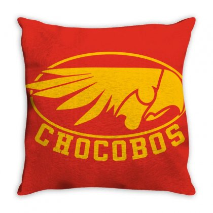 Chocobo Final Fantasy Throw Pillow Designed By Oktaviany