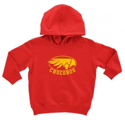 Chocobo Final Fantasy Toddler Hoodie Designed By Oktaviany