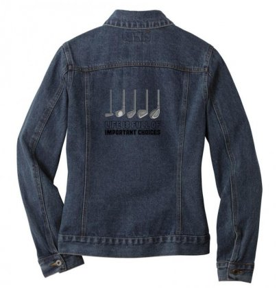 Choices Golf Ladies Denim Jacket Designed By Oktaviany