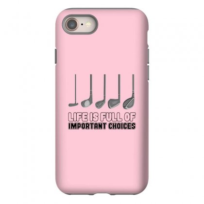 Choices Golf Iphone 8 Case Designed By Oktaviany