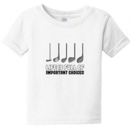 Choices Golf Baby Tee Designed By Oktaviany