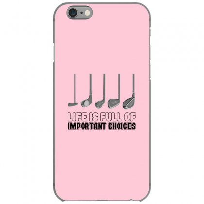 Choices Golf Iphone 6/6s Case Designed By Oktaviany