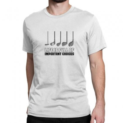 Choices Golf Classic T-shirt Designed By Oktaviany