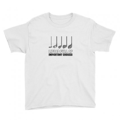 Choices Golf Youth Tee Designed By Oktaviany
