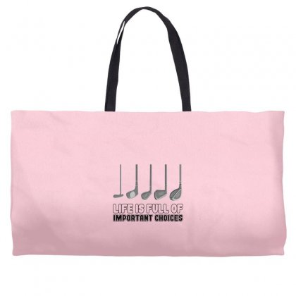 Choices Golf Weekender Totes Designed By Oktaviany
