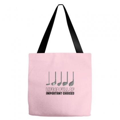 Choices Golf Tote Bags Designed By Oktaviany