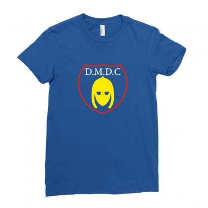 Dmdc Logo Ladies Fitted T-shirt Designed By Oktaviany