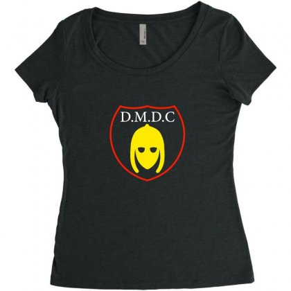 Dmdc Logo Women's Triblend Scoop T-shirt Designed By Oktaviany