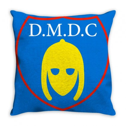 Dmdc Logo Throw Pillow Designed By Oktaviany