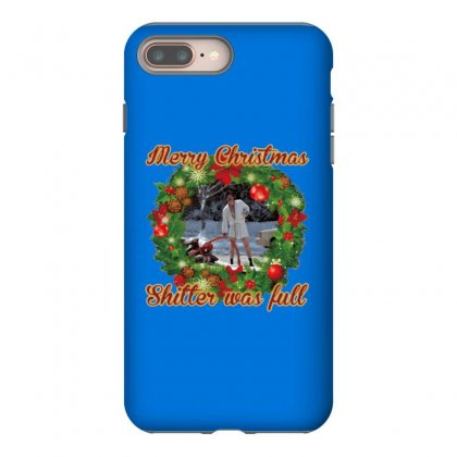 Merry Christmas Shitter Full Iphone 8 Plus Case Designed By Oktaviany