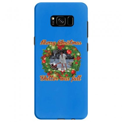 Merry Christmas Shitter Full Samsung Galaxy S8 Case Designed By Oktaviany