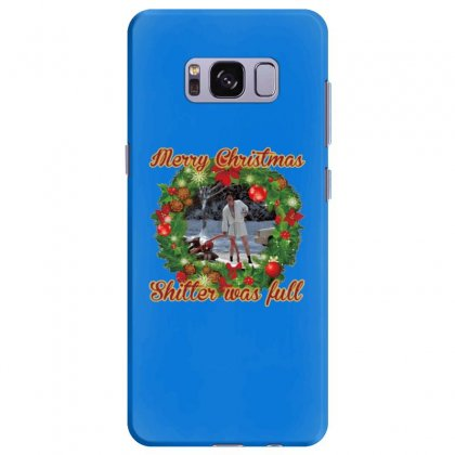 Merry Christmas Shitter Full Samsung Galaxy S8 Plus Case Designed By Oktaviany