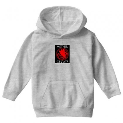 The Mother Cats Youth Hoodie Designed By Oktaviany
