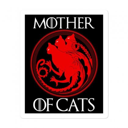 The Mother Cats Sticker Designed By Oktaviany