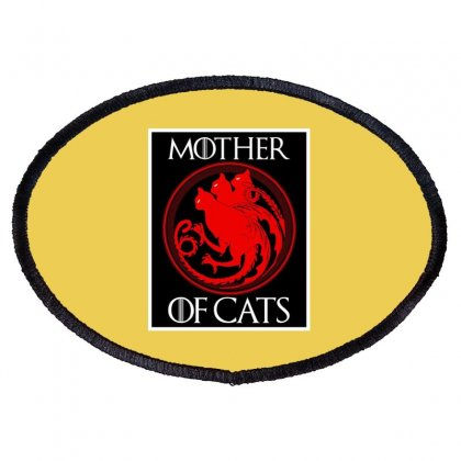 The Mother Cats Oval Patch Designed By Oktaviany