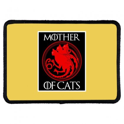 The Mother Cats Rectangle Patch Designed By Oktaviany