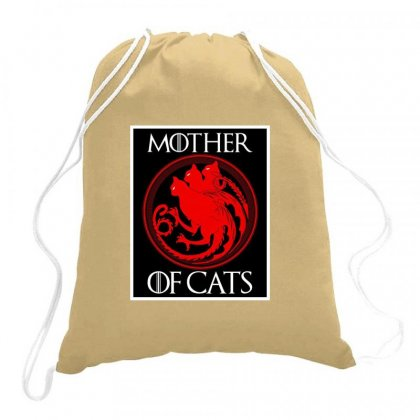 The Mother Cats Drawstring Bags Designed By Oktaviany