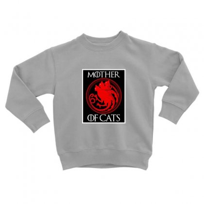 The Mother Cats Toddler Sweatshirt Designed By Oktaviany