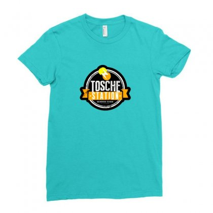 Tosche Station Merch Ladies Fitted T-shirt Designed By Oktaviany