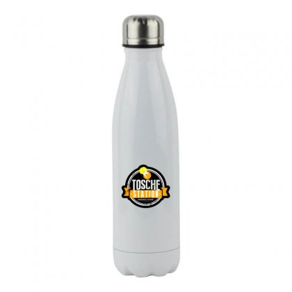 Tosche Station Merch Stainless Steel Water Bottle Designed By Oktaviany