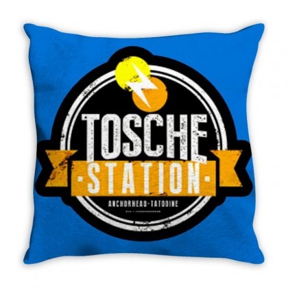 Tosche Station Merch Throw Pillow Designed By Oktaviany
