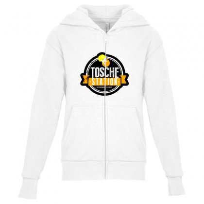 Tosche Station Merch Youth Zipper Hoodie Designed By Oktaviany