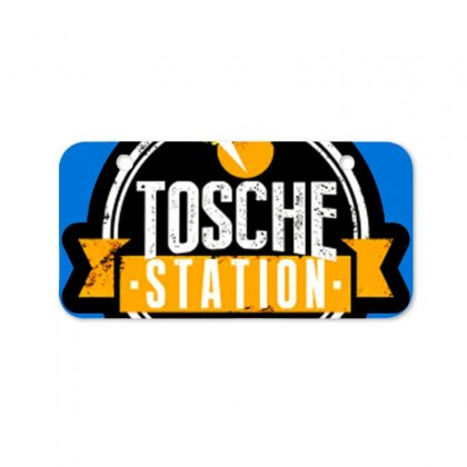 Tosche Station Merch Bicycle License Plate Designed By Oktaviany