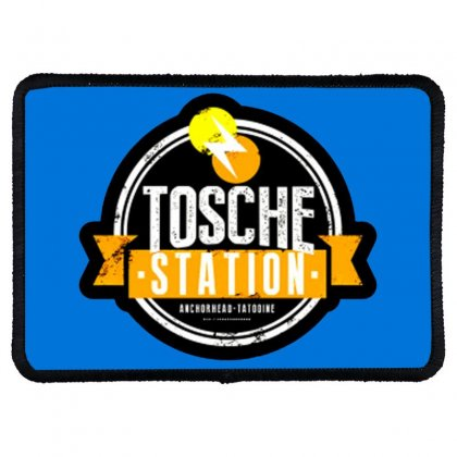 Tosche Station Merch Rectangle Patch Designed By Oktaviany