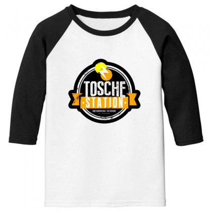 Tosche Station Merch Youth 3/4 Sleeve Designed By Oktaviany
