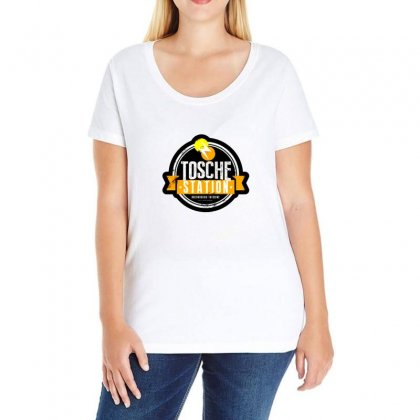 Tosche Station Merch Ladies Curvy T-shirt Designed By Oktaviany