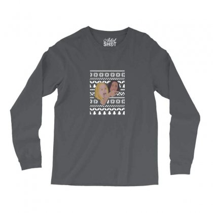 Woman Yelling At Cat Meme   Ugly Long Sleeve Shirts Designed By Oktaviany