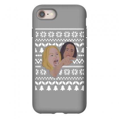 Woman Yelling At Cat Meme   Ugly Iphone 8 Case Designed By Oktaviany