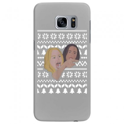 Woman Yelling At Cat Meme   Ugly Samsung Galaxy S7 Edge Case Designed By Oktaviany