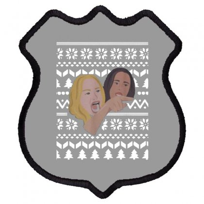 Woman Yelling At Cat Meme   Ugly Shield Patch Designed By Oktaviany